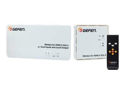 Gefen Wireless Extender for HDMI 5GHz LR (Long Range) Extender System, EXT-WHD-1080P-LR