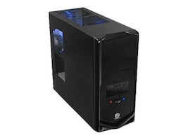 Thermaltake V4 Mid-Tower Case, VM30001W2Z, 11816161, Cases - Systems/Servers