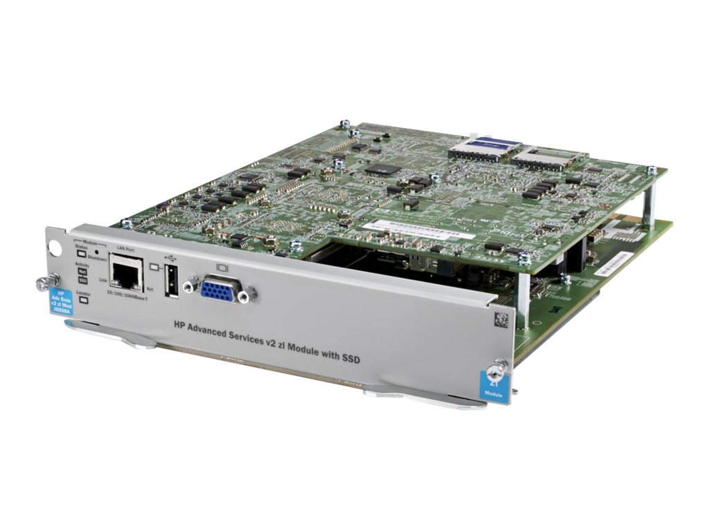 HPE Advanced Services V2 ZL Module w SSD, J9858A, 16590965, Network Routers