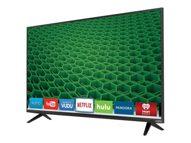 Vizio 43 D43-D2 LED-LCD Smart TV, Black, D43-D2