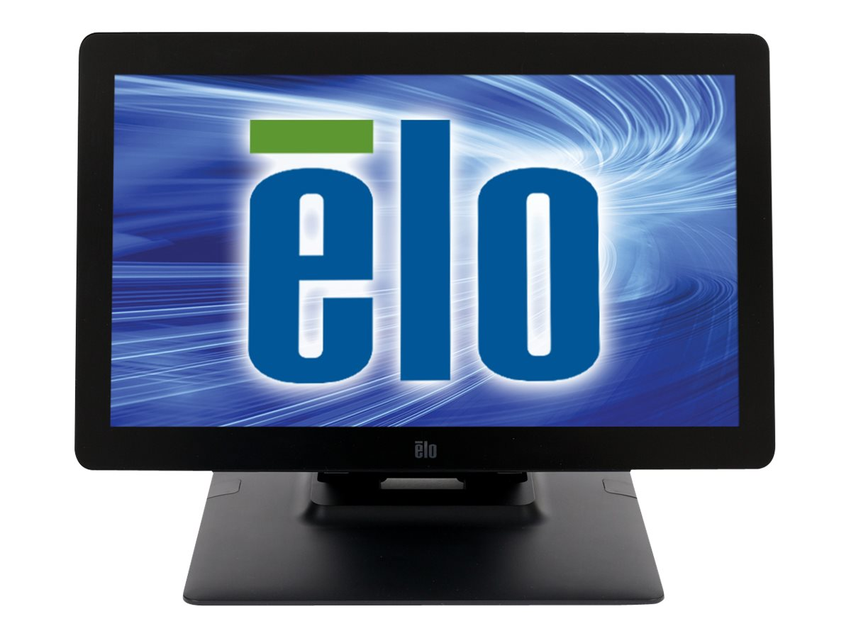 ELO Touch Solutions 1502L 15.6 Wide LCD Desktop Mini-VGA HDMI USB, Black, E045538, 30737610, POS/Kiosk Systems