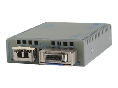 Omnitron iConverter XG XFP To XFP Tabletop AC US Power, 8599-11-A, 9878611, Network Transceivers