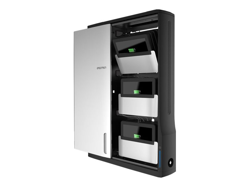 Ergotron Zip12 Charging Wall Cabinet, DM12-1006-1, 23409618, Charging Stations