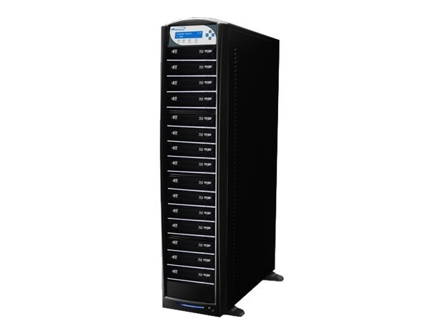 Vinpower SharkBlu Blu-ray XL DVD CD USB 1:15 Tower Duplicator w  Hard Drive, SHARKBLU-S15T-XL-BK, 15129587, Disc Duplicators