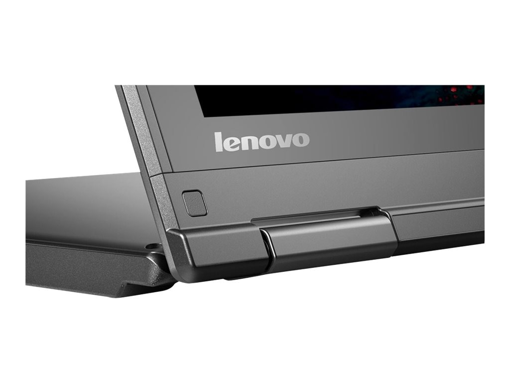 Lenovo ThinkPad Yoga 12 Core i5-5300U 2.3GHz 4GB 500GB+16GB SSD ac BT WC 8C Pen 12.5 FHD MT W8.1P64, 20DK0020US
