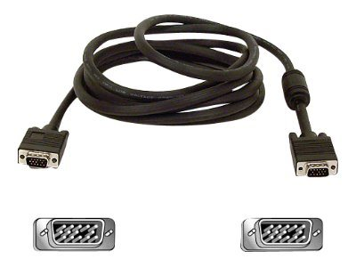 Belkin Pro Series High Integrity VGA SVGA Monitor Replacement Cable, 25ft, F3H982-25, 4897089, Cables