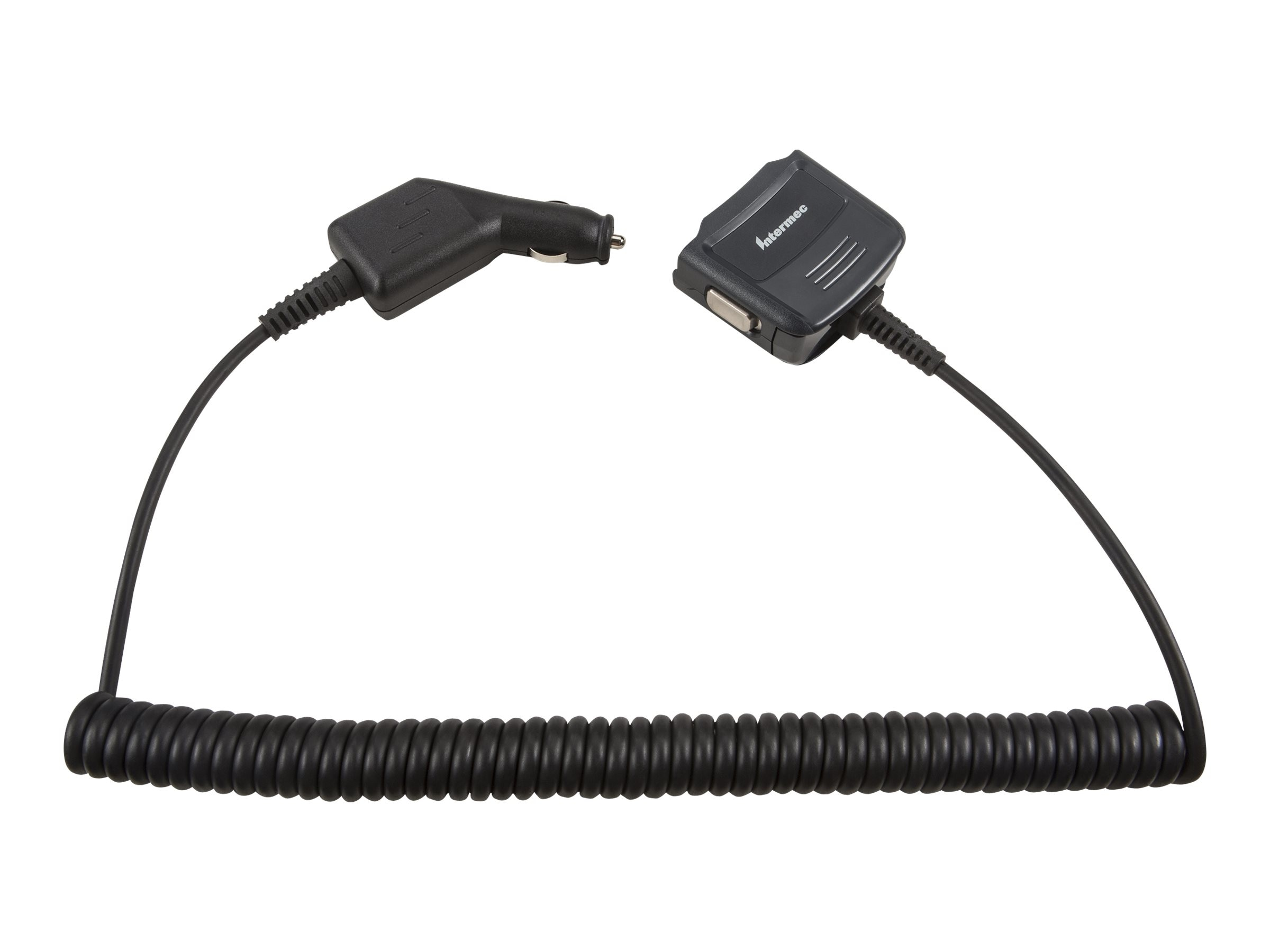 Intermec Endcap Power Adapter, Vehicle for CN CK70, 852-074-001, 30612032, Automobile/Airline Power Adapters