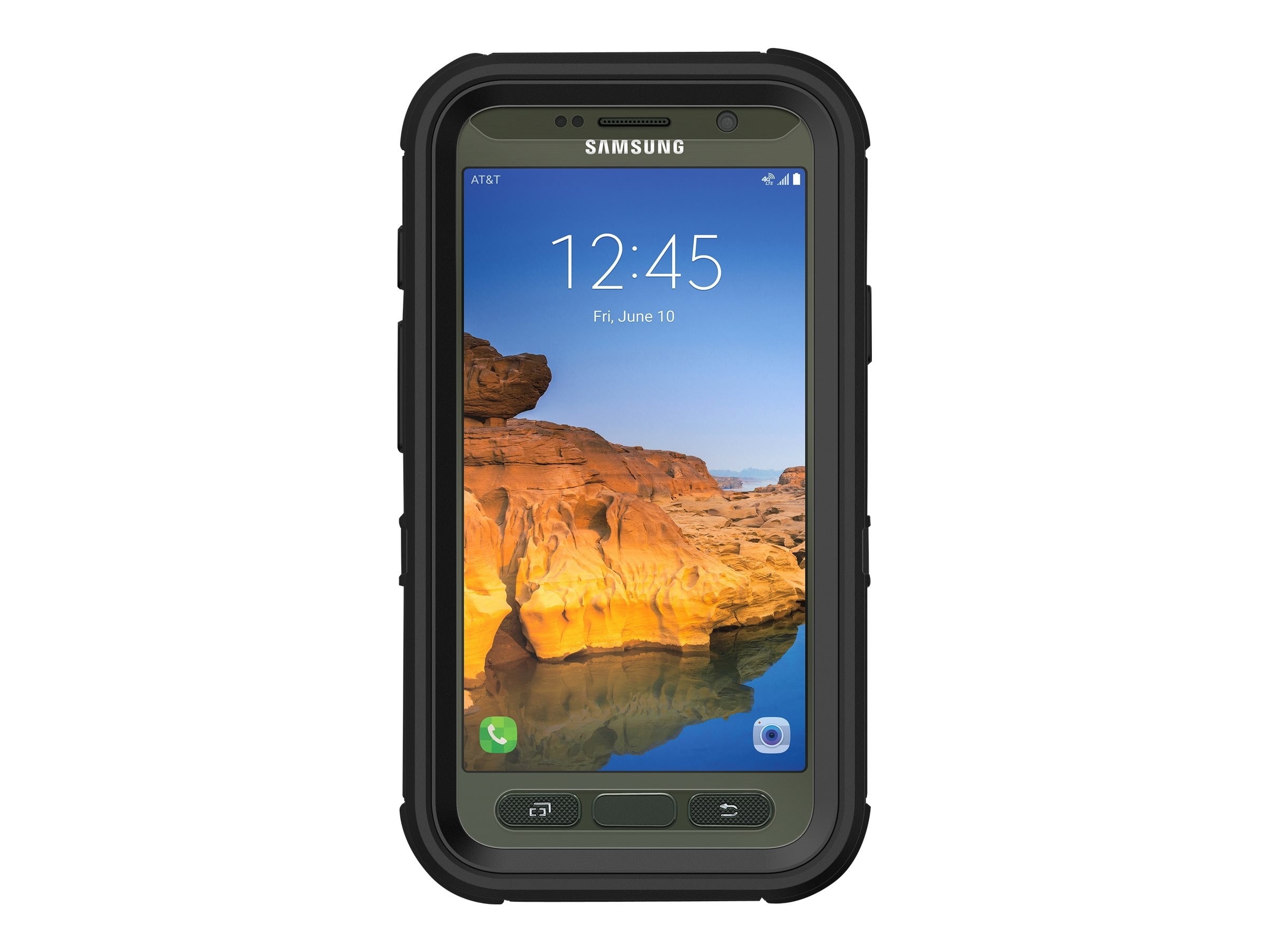 OtterBox Defender Case for Samsung Galaxy S7 Active, Black