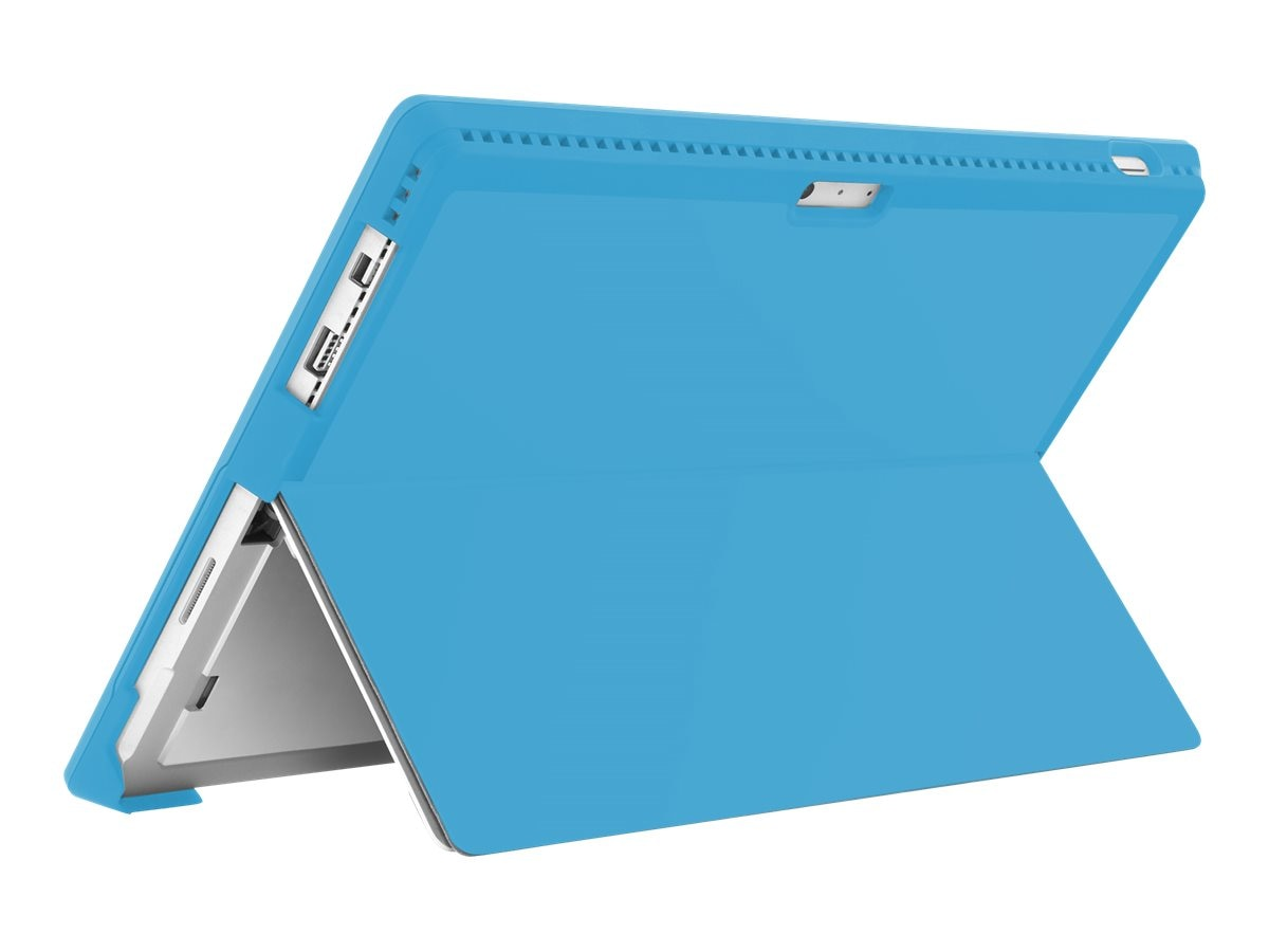 Incipio feather [Advanced] Ultra Thin Snap-on Case for Microsoft Surface Pro 3, Cyan, MRSF-071-CYN, 31201489, Carrying Cases - Tablets & eReaders