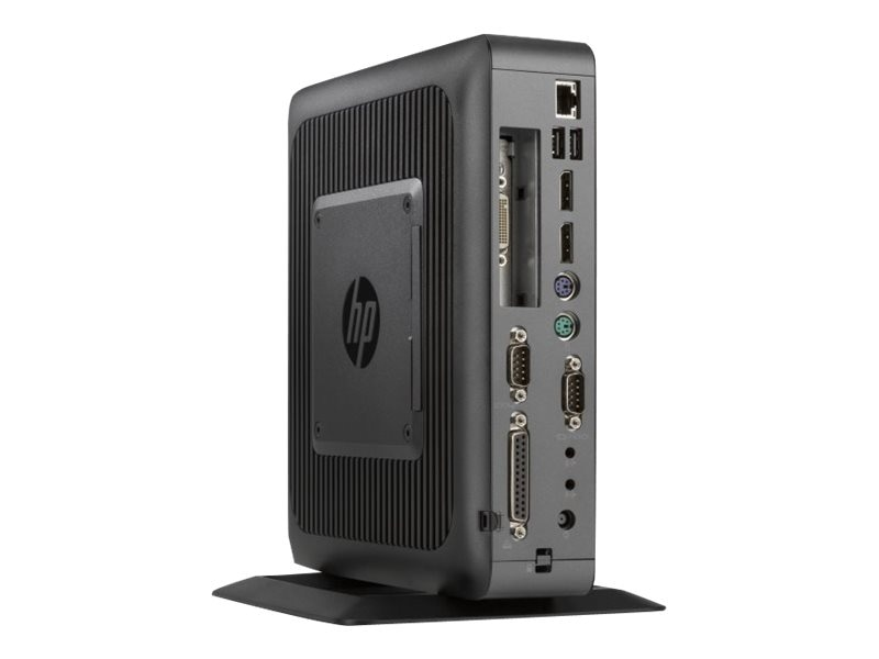 HP t620 PLUS Flexible Thin Client QC GX-420CA 2.0GHz 4GB RAM 16GB Flash HD8400E GbE WE864, G6F32UT#ABA
