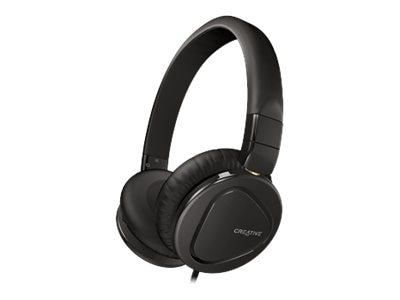 Creative Labs HITZ MA2600 Headset, Black, 51EF0650AA004, 16155859, Headsets (w/ microphone)