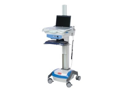 Rubbermaid Computer Cart for Notebooks, Single Drawer