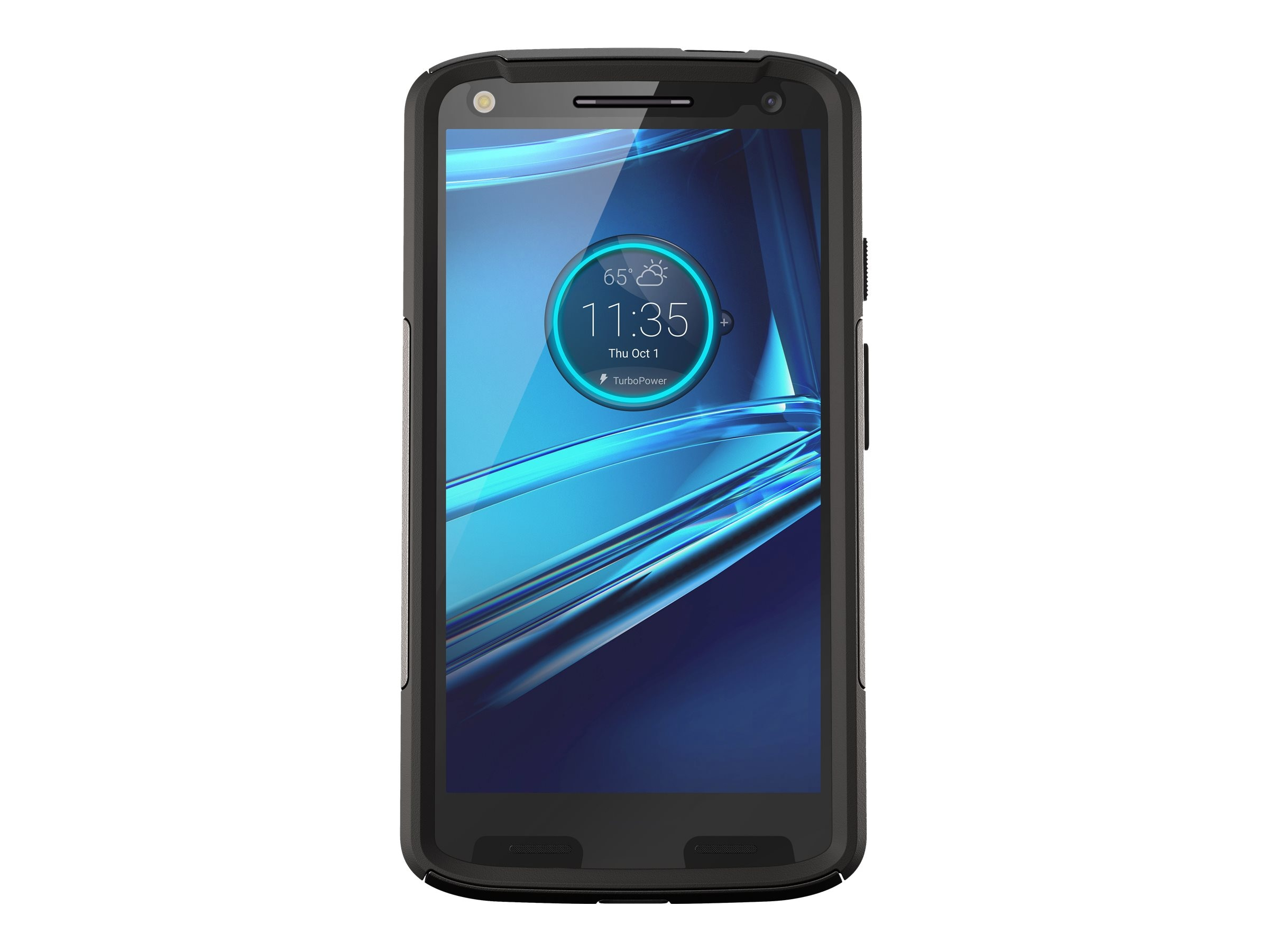 OtterBox Commuter Series Case for Motorola Droid Turbo 2, Black
