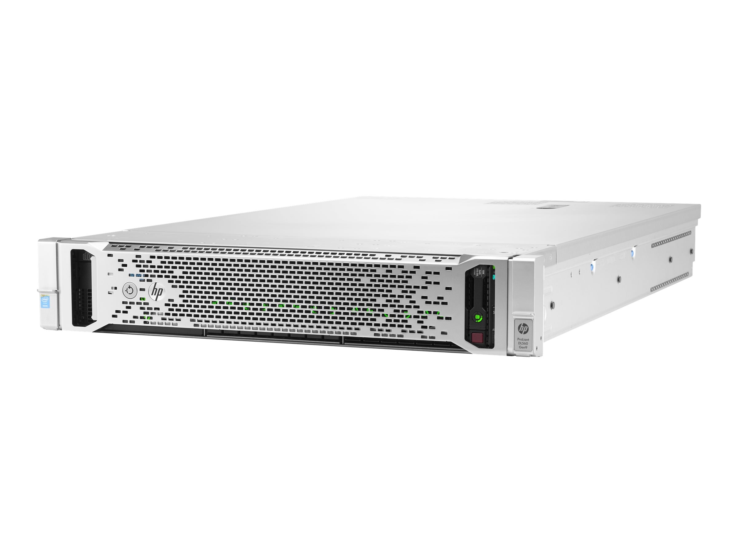 HPE ProLiant DL560 Gen9 Intel 2.0GHz Xeon, 741065-B21, 22903016, Servers