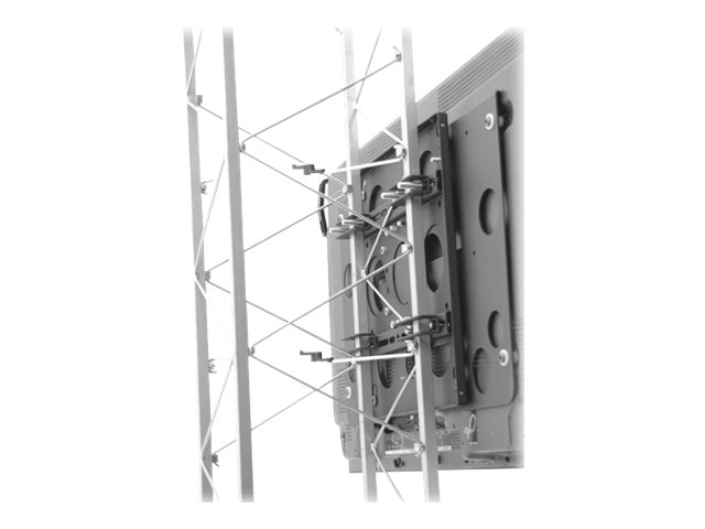 Chief Manufacturing Large Fixed Truss & Pole Mount for 42-71 Displays, Black