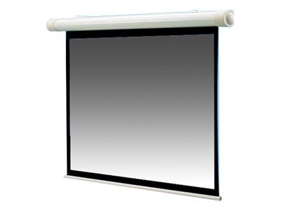 Draper Salara Plug & Play Motorized Projection Screen, Matte White, 4:3, 100, 136008, 6043423, Projector Screens