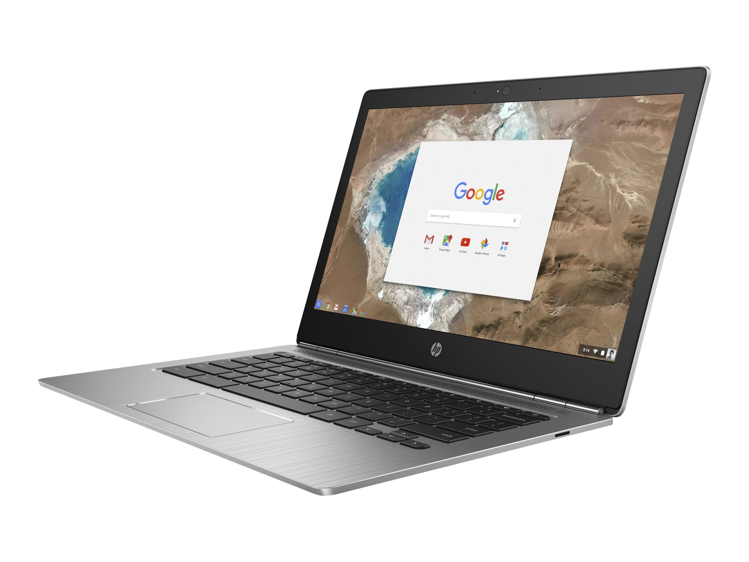 HP Chromebook 13 G1 0.9GHz Core m3 13.3in display