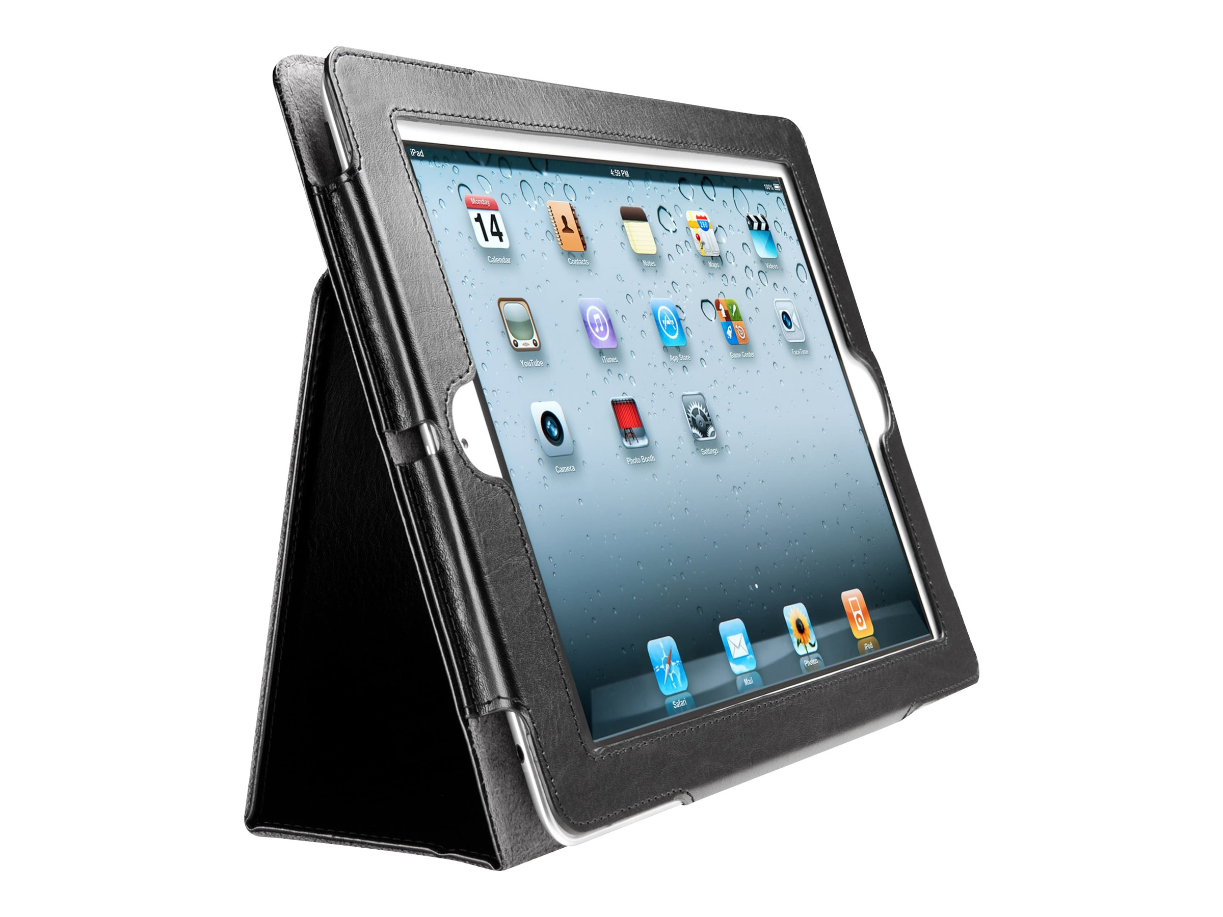 Kensington Folio Case for iPad 2, Black, K39397WW, 13445210, Carrying Cases - Tablets & eReaders