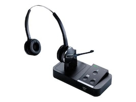 Jabra PRO 9450 Flex Duo Wireless Headset, 9450-69-707-105, 14002218, Headsets (w/ microphone)