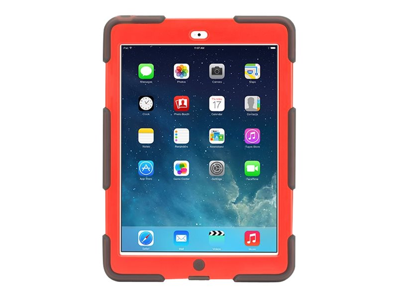 Griffin Survivor All-Terrain for iPad Air, Smoke, GB39772, 19337877, Carrying Cases - Tablets & eReaders