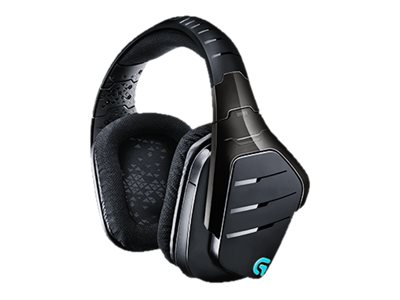 Logitech G933 Artemis Spectrum Wireless 7.1 Surround Sound Gaming Headset, 981-000585