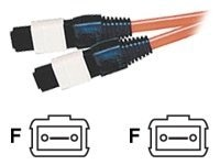 C2G LSZH Fiber Ribbon Cable, MTP (F-F), 62.5 125, Multimode, Orange, 10m, 35113, 8397778, Cables