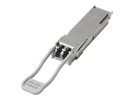 Cisco 40GbE LC MM BiDi QSFP+ Short-Reach Transceiver, QSFP-40G-SR-BD=, 18100499, Network Transceivers