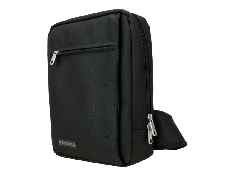 Kensington Sling Bag for iPad, Netbook or Tablet up to 10.2, Black, K62571US, 11296898, Carrying Cases - Tablets & eReaders