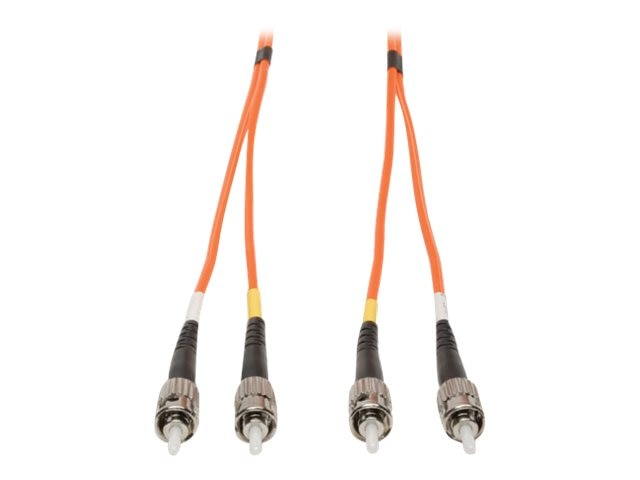 Tripp Lite Fiber Optic Patch Cable, ST ST, 62.5 125, Duplex Multimode, 6 ft, N302-006, 286009, Cables
