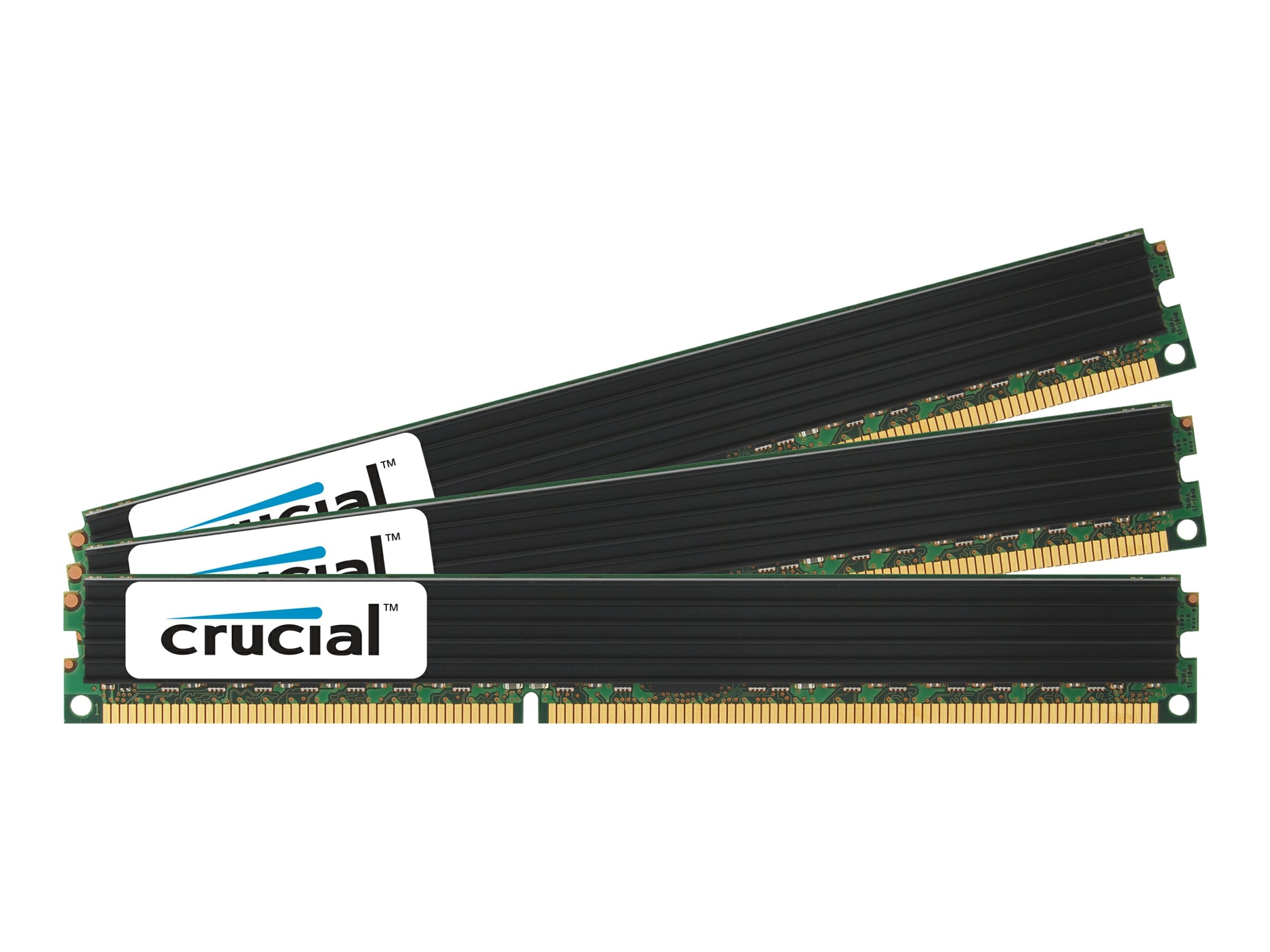 Crucial 12GB PC3-14900 240-pin DDR3 SDRAM RDIMM Kit, CT3K4G3ERVDD8186D, 23307945, Memory