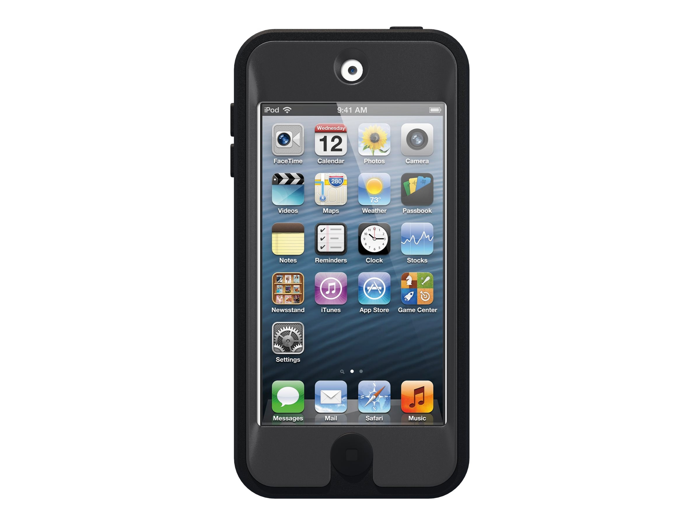 OtterBox Defender Carrying Case for iPod, Coal