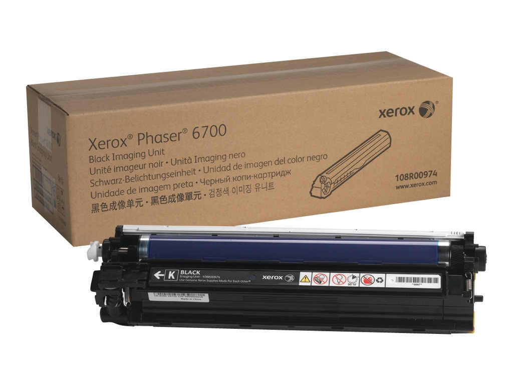 Xerox Black Imaging Unit for Phaser 6700 Series Printers, 108R00974, 13358204, Toner and Imaging Components