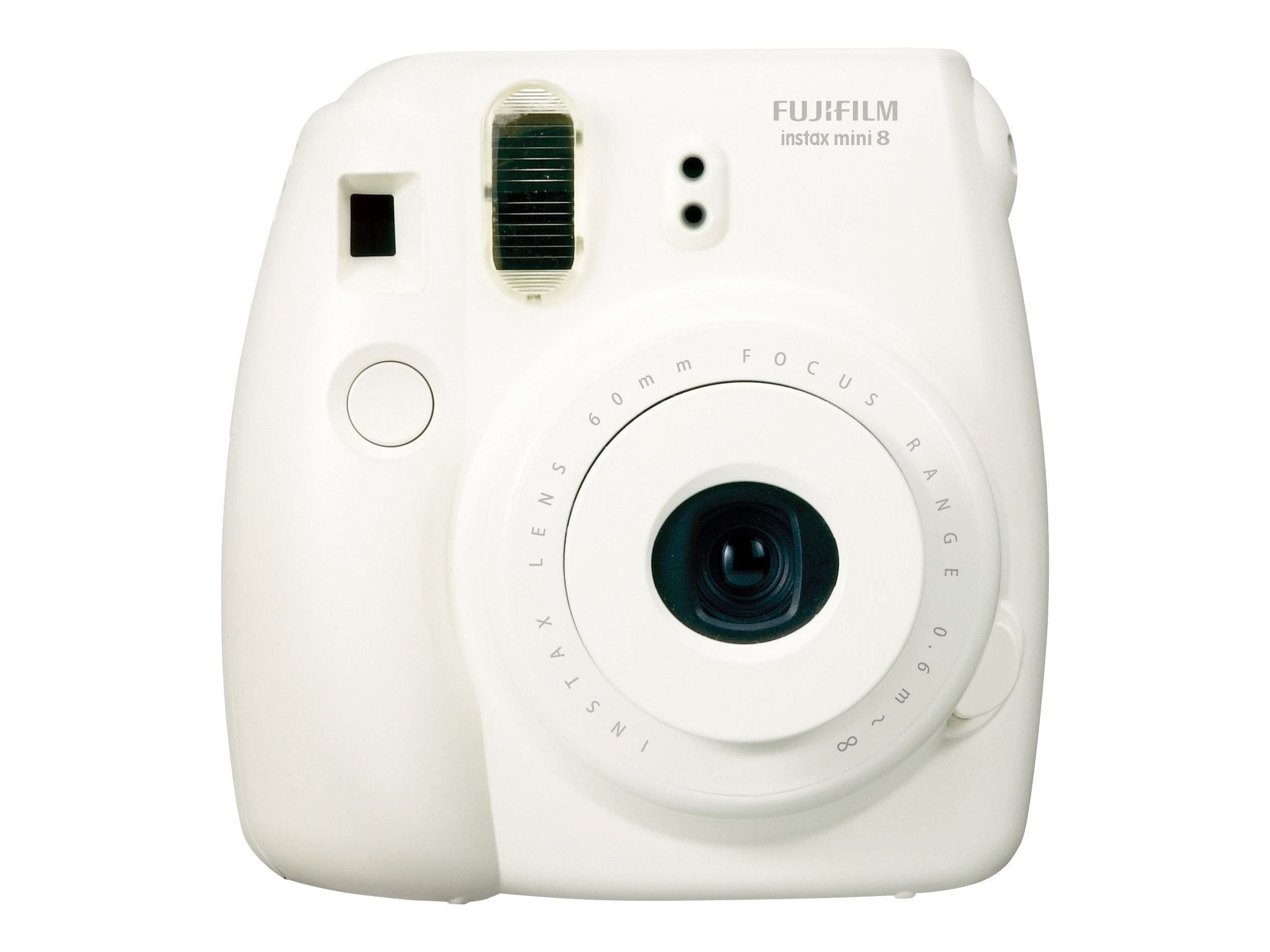 Fujifilm Instax Mini 8 Camera, White, 16273398