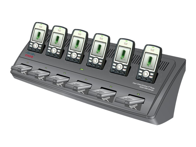 Cisco Multi-Charger Bundle with Multi-charger, Power Supply, AC Power Cord, CP-MCHGR-7925G-BUN