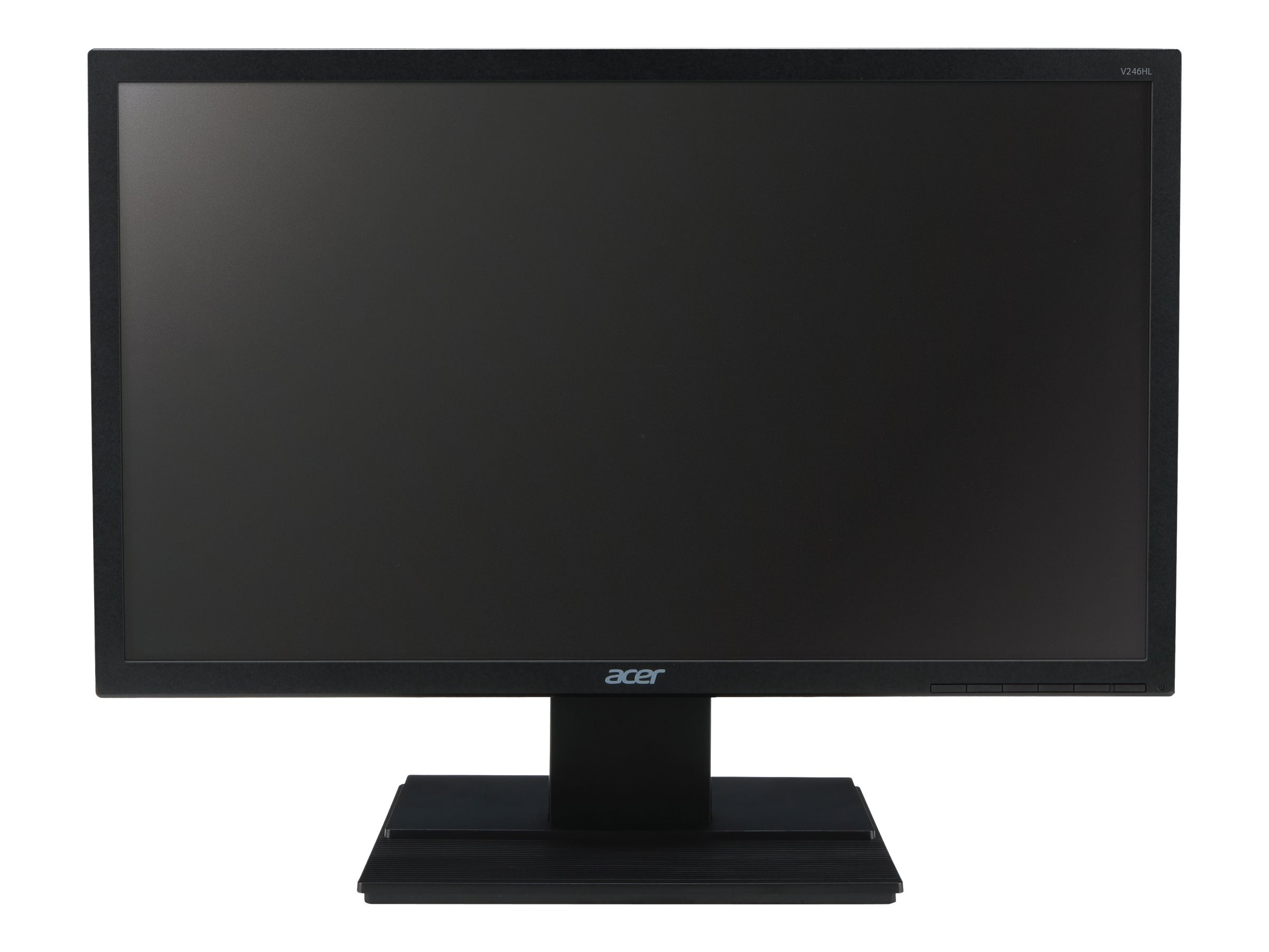 Acer 24 V246HQL CBD Full HD LED-LCD Monitor, Black, UM.UV6AA.C01, 19295961, Monitors - LED-LCD