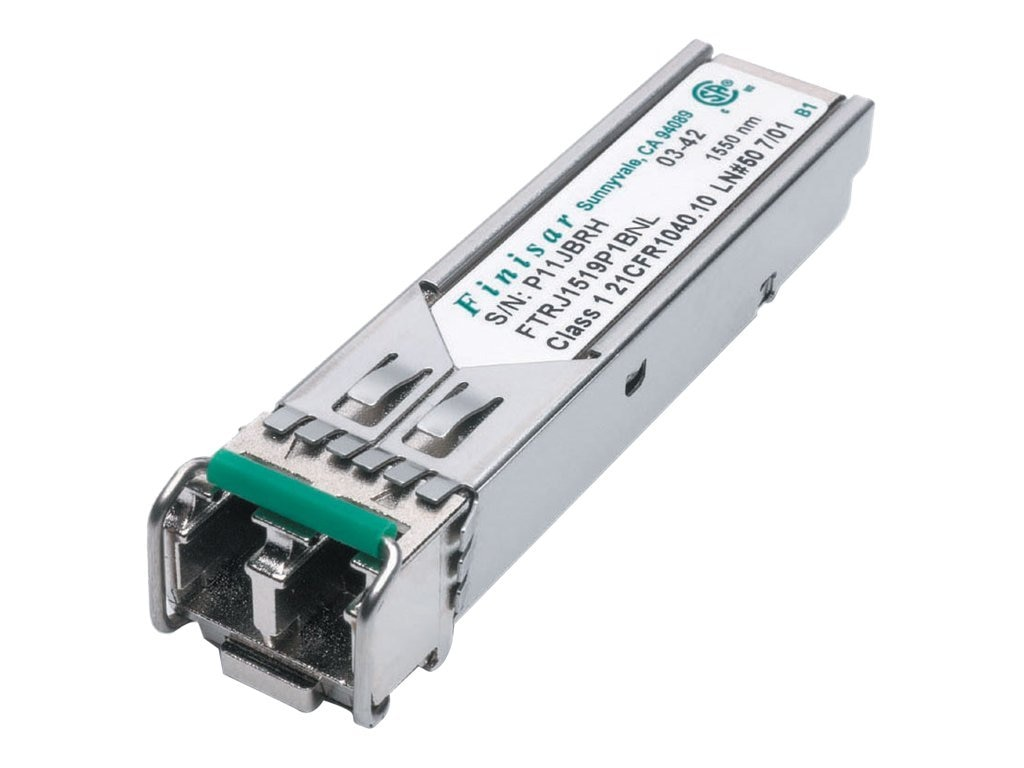 Finisar 1550NM DFB GigE 1X FC 1.25 GB S, FTLF1518P1BTL, 11985247, Network Transceivers