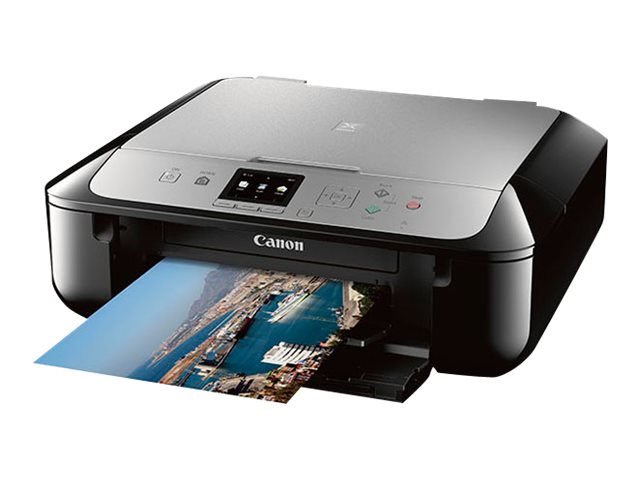 Canon PIXMA MG5721 Photo All-In-One Inkjet Printer - Black Silver, 0557C042, 30567972, MultiFunction - Ink-Jet