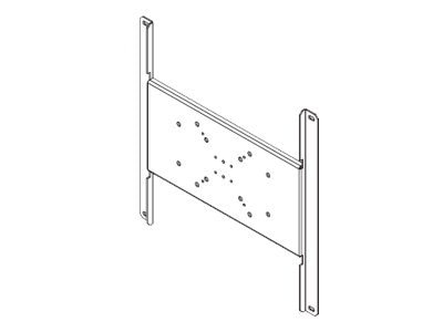 Peerless VESA Adapter Plate for Large Flat Panel, 400 x 400mm, PLP-V4X4, 8827651, Stands & Mounts - AV