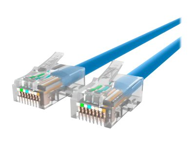 Belkin Cat5e Non-Booted UTP Patch Cable, Blue, 6ft