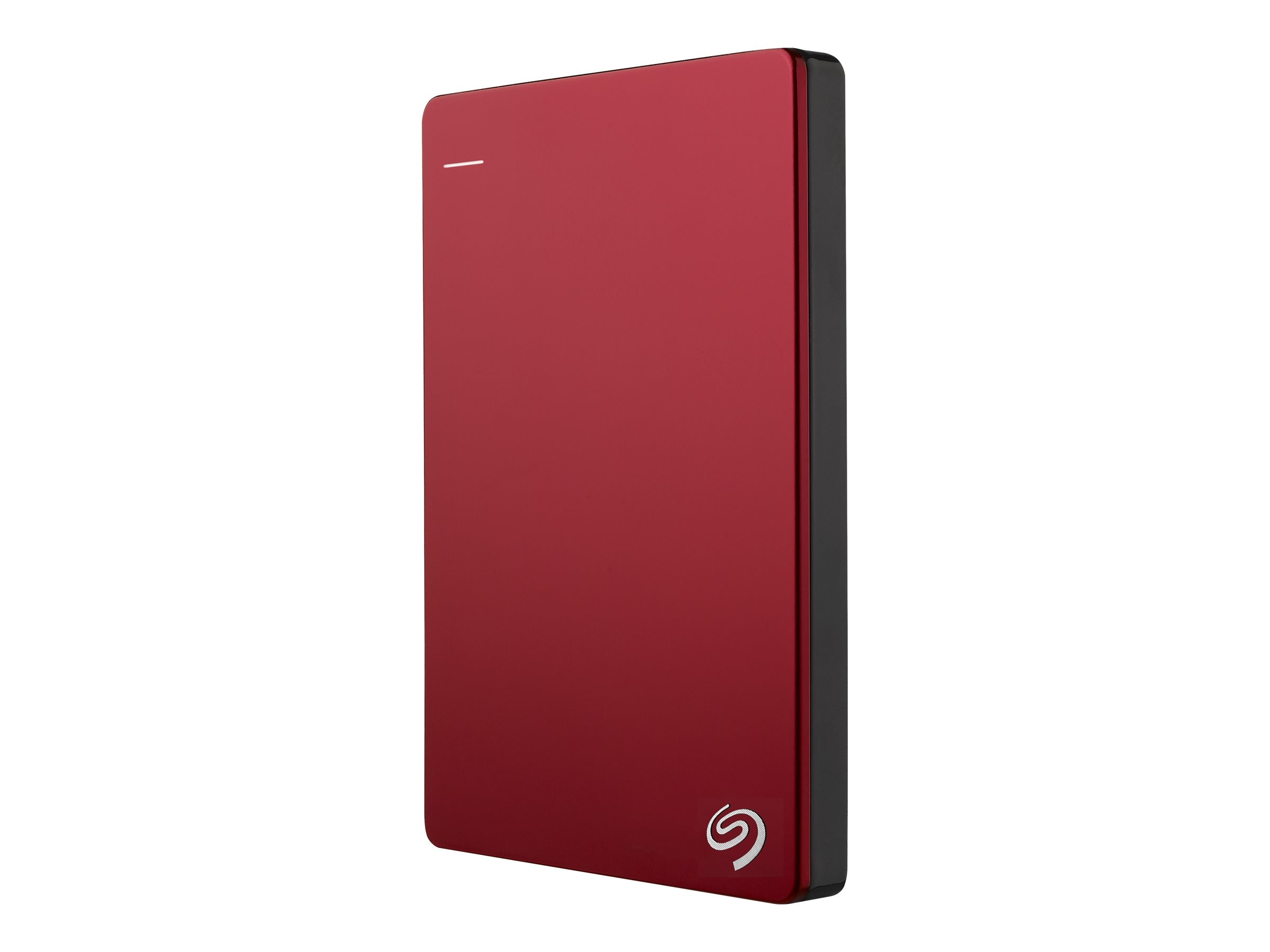 Seagate 1TB Backup Plus USB 3.0 Slim Portable Hard Drive - Red, STDR1000103, 16573946, Hard Drives - External