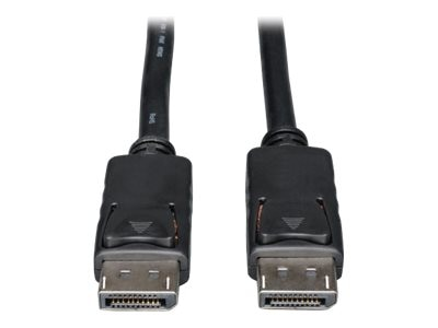 Tripp Lite DisplayPort M M Cable with Latches, Black, 30ft, P580-030, 18401531, Cables