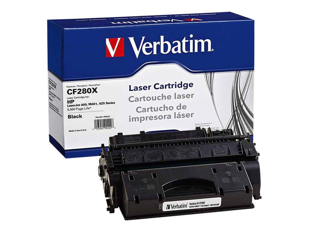 Verbatim CF280X Remanufactured Toner Cartridge