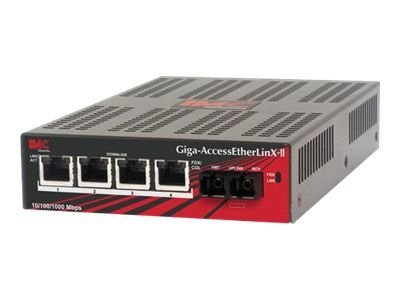 IMC Giga-AccessEtherLinX, TX 4 + SFP (requires one SFP 1250 module), 852-10302, 15637266, Network Transceivers
