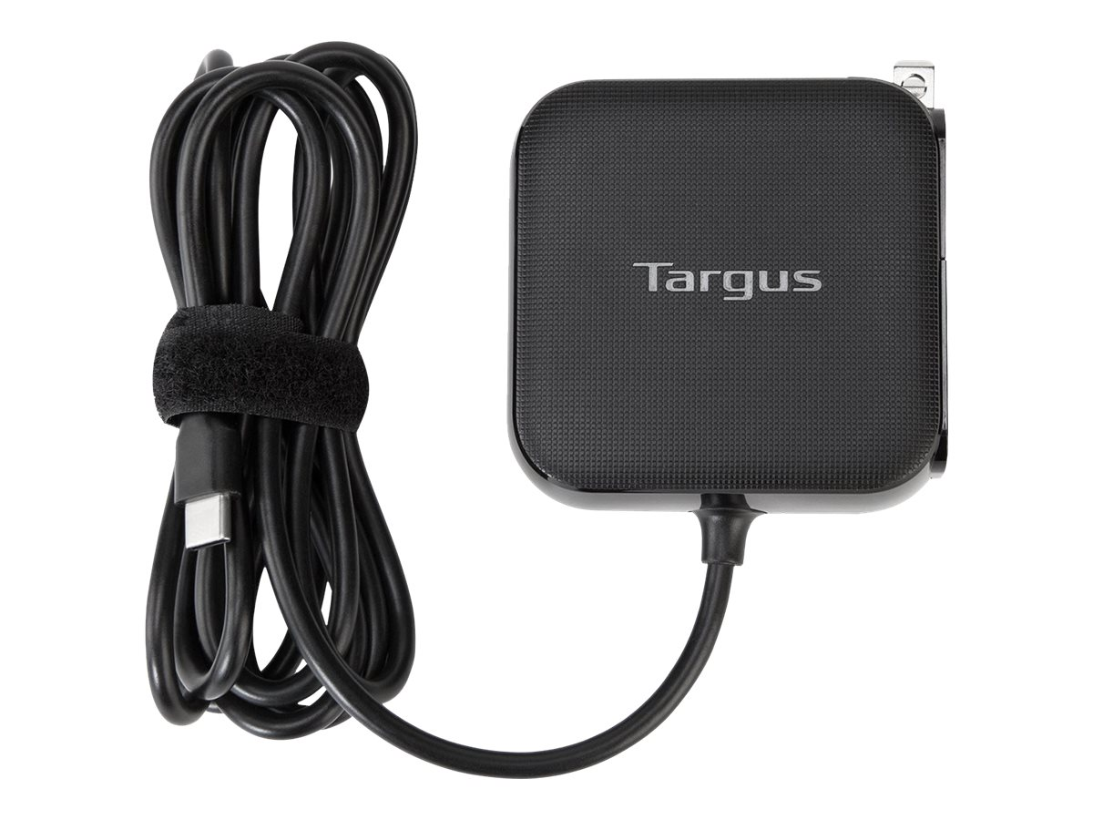 Targus 45W Type C Laptop Wall Charger (Black), APA93US