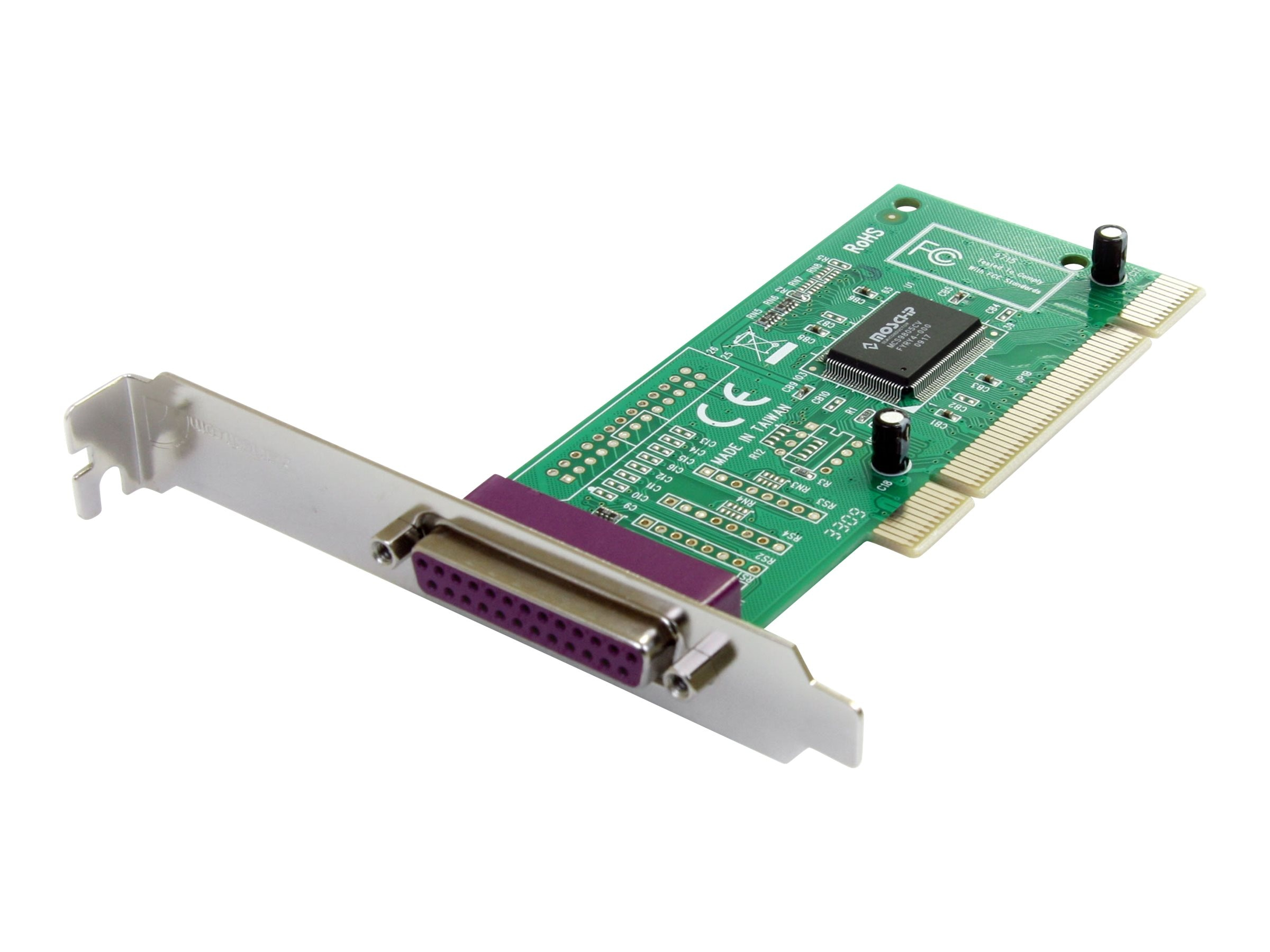 StarTech.com 1-Port PCI Parallel Adapter Card, PCI1PECP, 161860, Controller Cards & I/O Boards