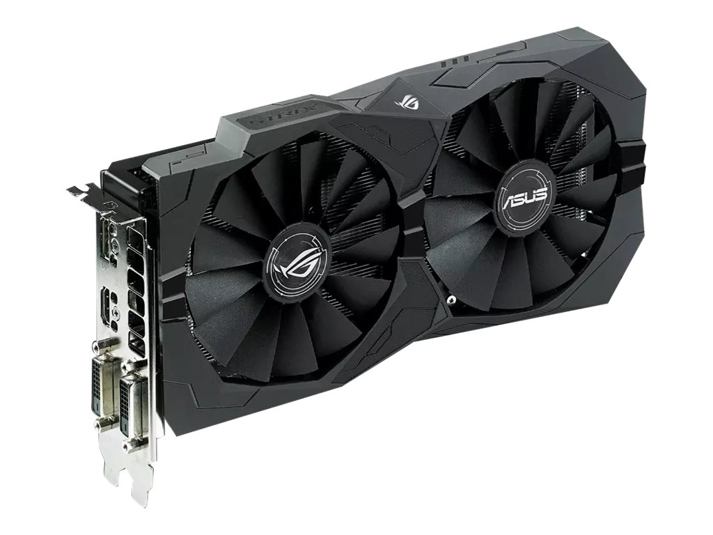 Asus AMD Radeon RX 470 PCIe 3.0 Overclocked Graphics Card, 8GB GDDR5, STRIX-RX470-O8G-GAMING, 33112025, Graphics/Video Accelerators