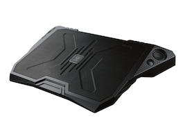 Enermax AeroOdio Cooling Pad with DreamBass Sound for up to 17 Notebook, Black, CP006, 16349021, Cooling Systems/Fans