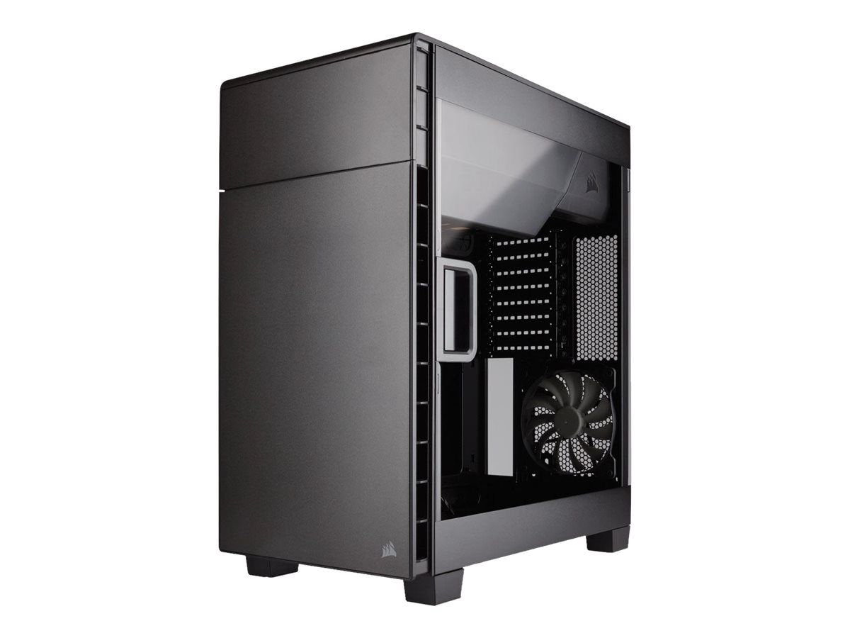 Corsair Chassis, Carbide Clear 600c Inverse ATX Full Tower, CC-9011079-WW