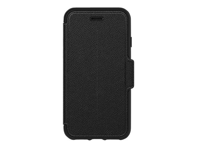 OtterBox Strada Folio for iPhone 7, Onyx