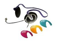 Micro Innovations Customizable Stereo Headset, Behind-the-Neck, MM780, 15393046, Headsets (w/ microphone)